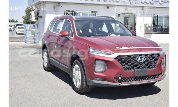 Acheter Importé Voiture Hyundai Santa Fe Rouge à Import - Dubai, Togo