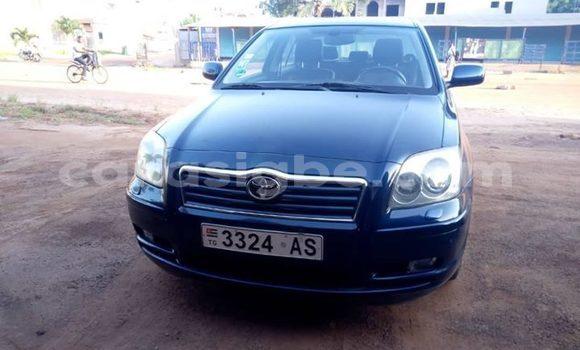Acheter Occasion Voiture Toyota Avensis Noir à Lomé, Togo