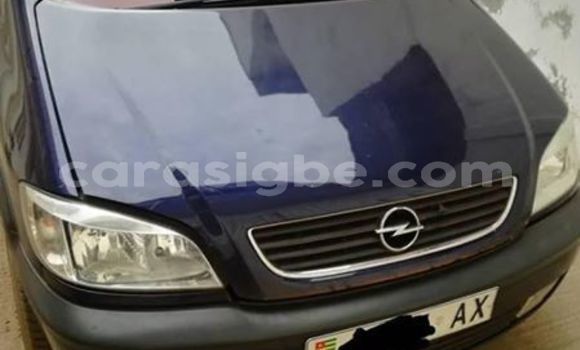 Acheter Occasion Voiture Opel Zafira Bleu à Lomé, Togo