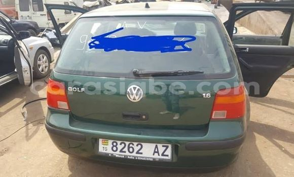 Acheter Occasion Voiture Volkswagen Golf Vert à Lomé, Togo