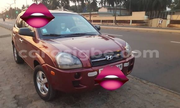 Acheter Occasion Voiture Hyundai Tucson Rouge à Lomé, Togo