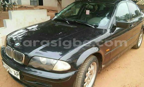 Acheter Occasion Voiture BMW 3–Series Noir à Lomé, Togo
