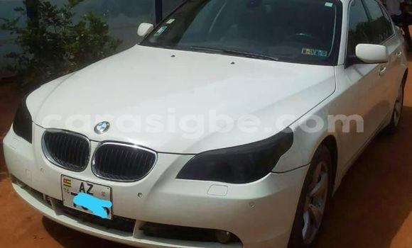 Acheter Occasion Voiture BMW 5–Series Blanc à Lomé, Togo