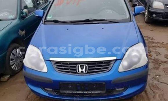 Acheter Occasion Voiture Honda Civic Bleu à Lomé, Togo