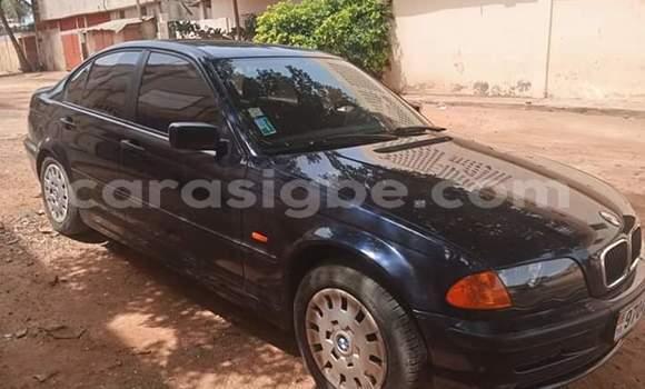 Acheter Occasion Voiture BMW E46 Noir à Lomé, Togo