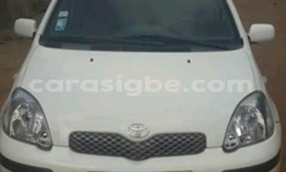 Acheter Occasion Voiture Toyota Yaris Blanc à Lomé, Togo