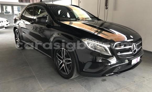 Acheter Occasion Voiture Mercedes‒Benz GLA-klasse Noir à Lomé, Togo