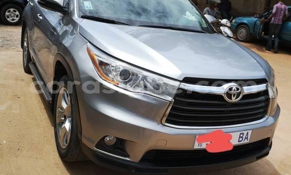half off d7d98 4925d Acheter Occasion Voiture Toyota Highlander Gris à Lomé, Togo