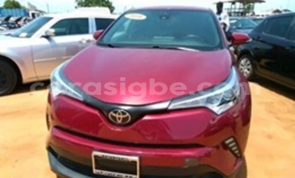 Acheter Occasion Voiture Toyota C-HR Rouge à Lomé, Togo