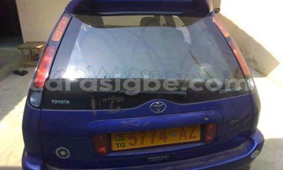 Acheter Occasion Voiture Toyota Corolla Bleu à Lomé, Togo