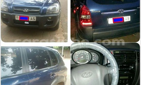 Acheter Occasion Voiture Hyundai Tucson Bleu à Lomé au Togo