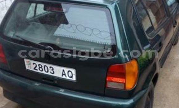 Acheter Occasions Voiture Volkswagen Golf Vert à Lomé au Togo
