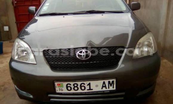 Acheter Occasion Voiture Toyota Corolla Noir à Lomé, Togo