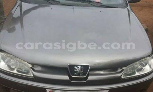 Acheter Occasion Voiture Peugeot 306 Gris à Lomé, Togo