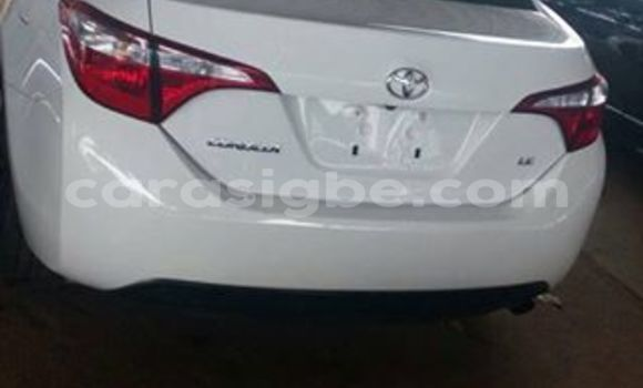 Acheter Occasion Voiture Toyota Corolla Blanc à Adawlato, Togo