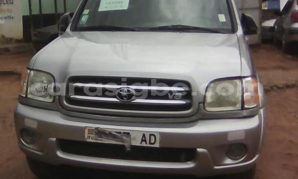 Acheter Occasion Voiture Toyota Sequoia Gris à Lomé au Togo