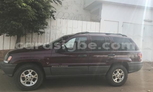 Acheter Occasion Voiture Jeep Grand Cherokee Rouge à Lomé au Togo