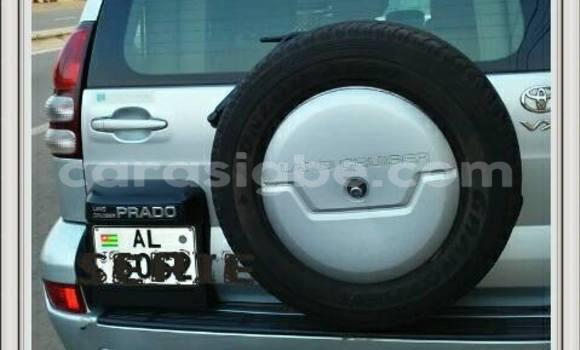 Acheter Occasion Voiture Toyota Land Cruiser Prado Gris à Adawlato au Togo