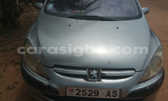 Acheter Occasion Voiture Peugeot 307 Gris à Bé au Togo