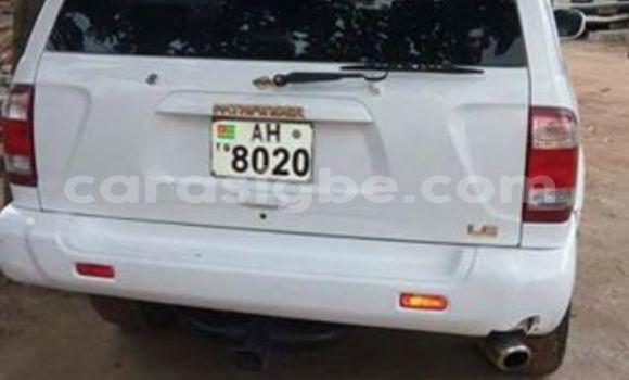 Acheter Occasion Voiture Nissan Pathfinder Blanc à Adawlato au Togo