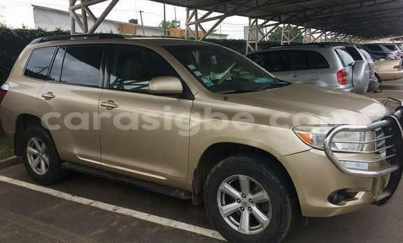 Acheter Occasion Voiture Toyota Highlander Autre à Tokoin au Togo