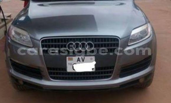 Acheter Occasions Voiture Audi Q7 Gris à Adawlato au Togo
