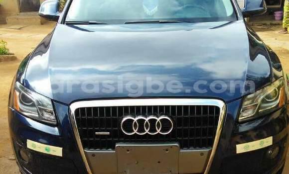 Acheter Occasion Voiture Audi Q5 Noir à Lomé au Togo