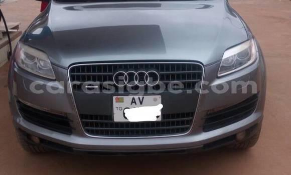 Acheter Occasion Voiture Audi Q7 Gris à Adawlato au Togo