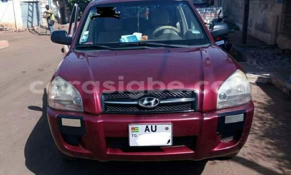 Acheter Occasion Voiture Hyundai Tucson Rouge à Lomé au Togo