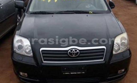 Acheter Occasion Voiture Toyota Avensis Noir à Adawlato, Togo