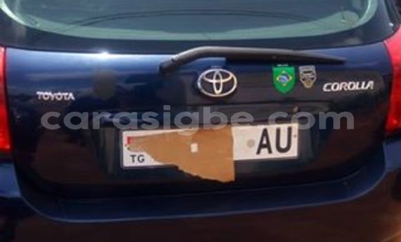 Acheter Occasion Voiture Toyota Corolla Bleu à Adawlato au Togo