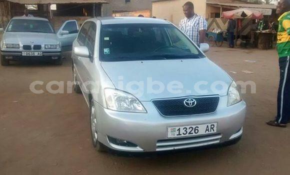 Acheter Occasion Voiture Toyota Corolla Gris à Adawlato au Togo