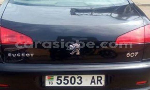 Acheter Occasion Voiture Peugeot 607 Noir à Adawlato au Togo