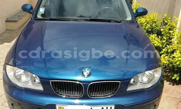 Acheter Occasion Voiture BMW 1-Serie Noir à Adawlato au Togo