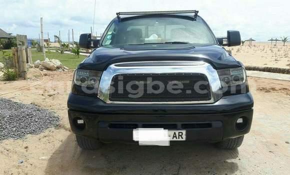 Acheter Occasion Voiture Toyota Tundra Noir à Lomé au Togo