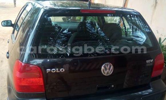 Acheter Occasion Voiture Volkswagen Polo Noir à Adawlato au Togo