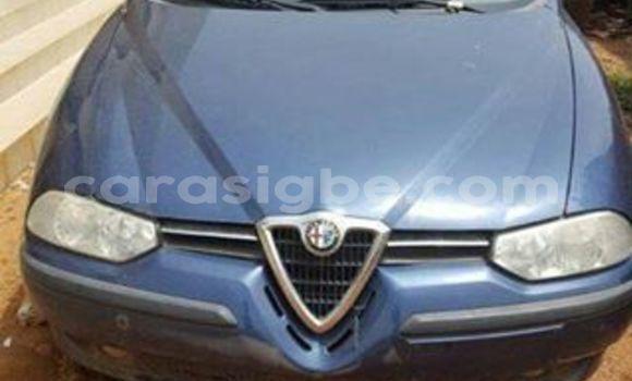 Acheter Occasion Voiture Alfa Romeo 156 Bleu à Adawlato au Togo