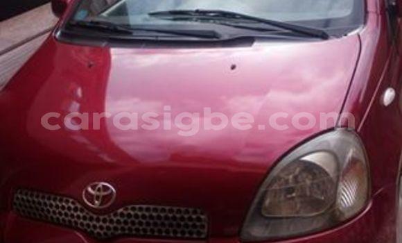 Acheter Occasion Voiture Toyota Yaris Rouge à Adawlato au Togo