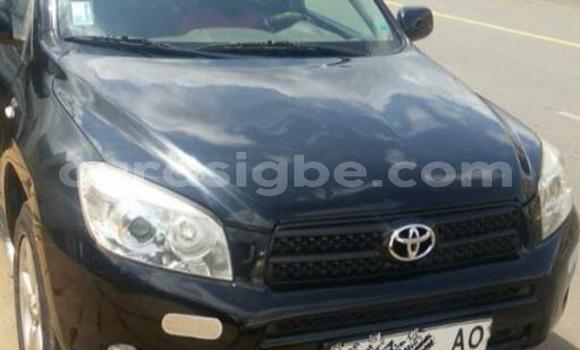 Acheter Occasion Voiture Toyota RAV4 Noir à Lomé au Togo