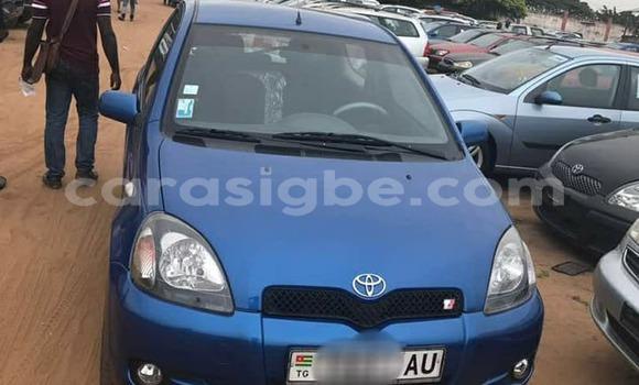 Acheter Occasion Voiture Toyota Yaris Bleu à Lomé au Togo