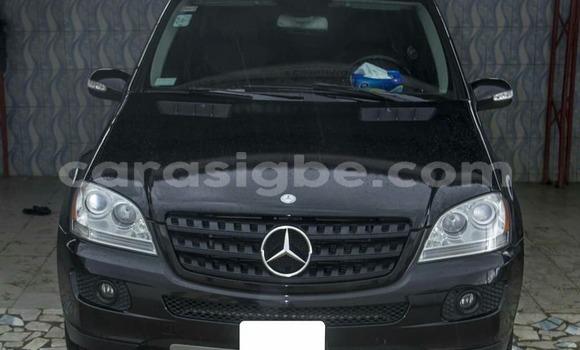 Acheter Occasion Voiture Mercedes‒Benz ML–Class Noir à Lomé, Togo