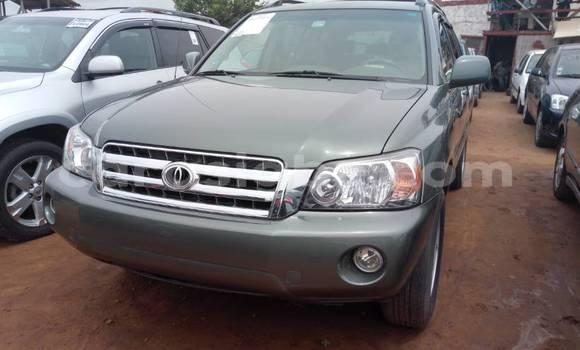 Acheter Occasion Voiture Toyota Highlander Gris à Lomé au Togo