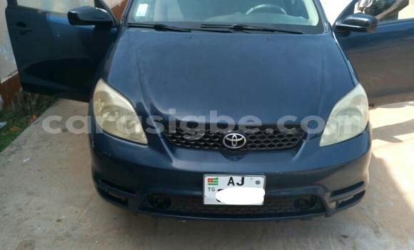 Acheter Occasion Voiture Toyota Matrix Bleu à Lomé au Togo