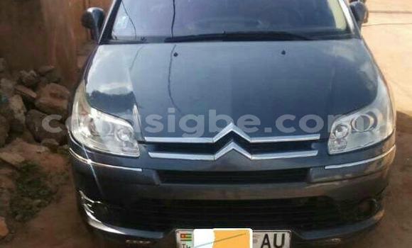 Acheter Occasion Voiture Citroen C4 Gris à Lomé au Togo