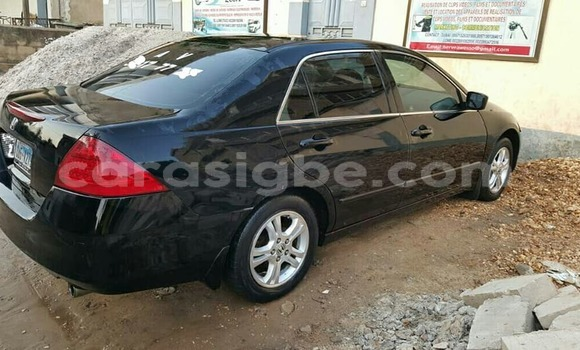 Acheter Occasion Voiture Honda Accord Noir à Lomé au Togo