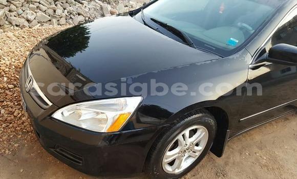 Acheter Occasions Voiture Honda Accord Noir à Lomé au Togo