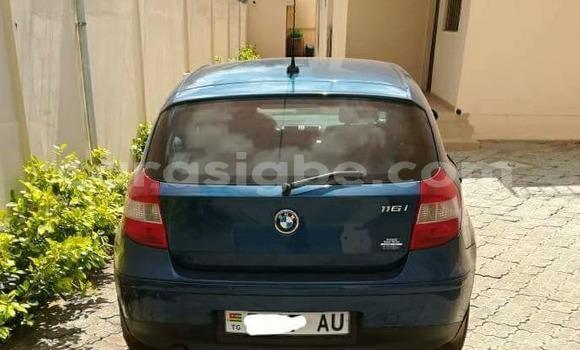 Acheter Occasion Voiture BMW 1-Serie Bleu à Lomé au Togo