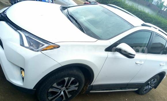 Acheter Occasion Voiture Toyota RAV4 Blanc à Lomé au Togo
