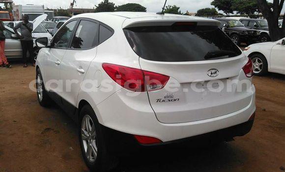 Acheter Occasion Voiture Hyundai Tucson Blanc à Adawlato au Togo