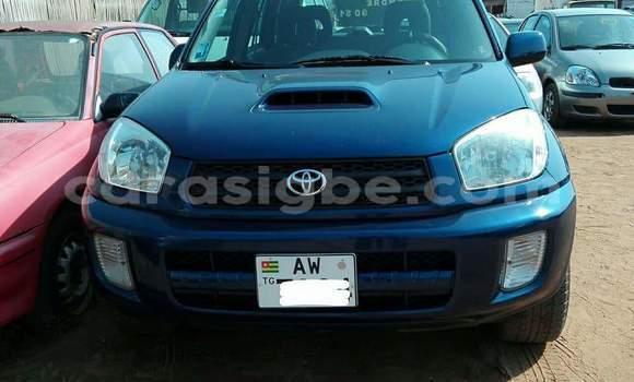 Acheter Occasion Voiture Toyota RAV4 Bleu à Lomé au Togo